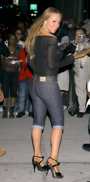 Changing up the jeans and a nice top look for pedal pushers in 2006.