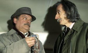 Peter Benson, right, with David Jason in A Touch of Frost, 1994.