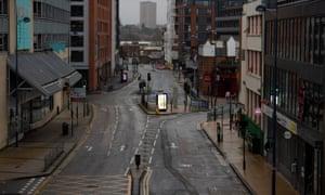 A quiet Pershore Street in Birmingham.