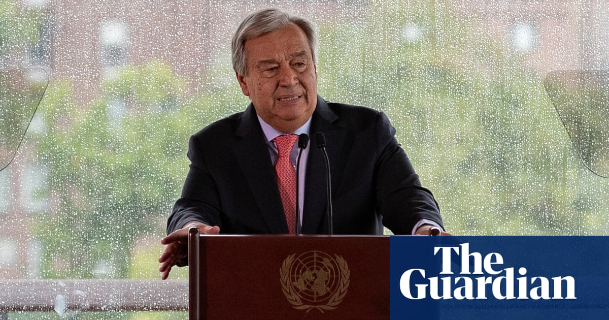 Fossil fuel dependence poses 'direct existential threat', warns UN chief