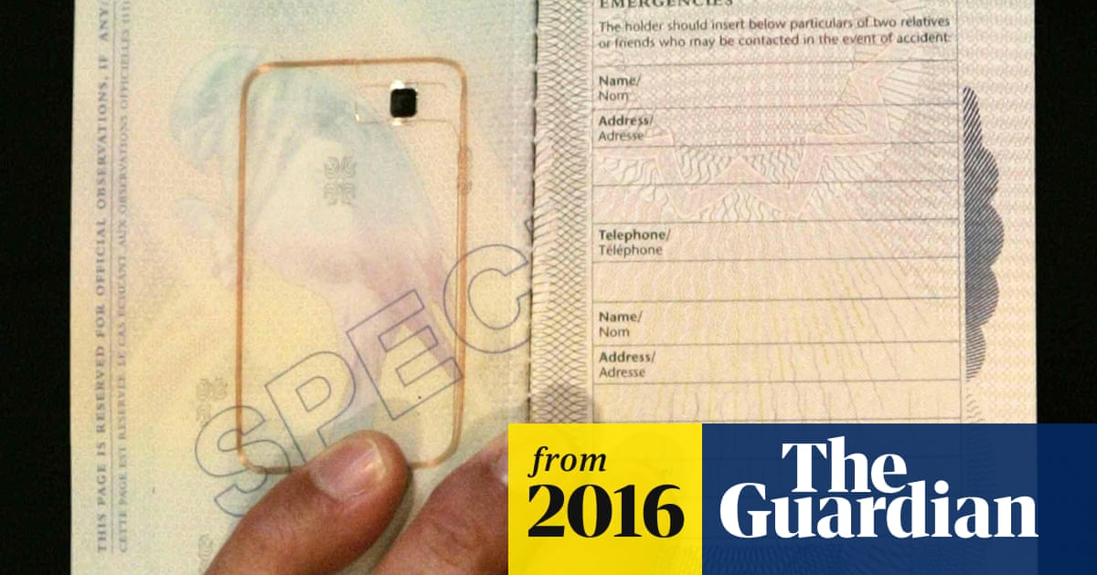 63545d0f1 Biometric passports likely to cause confusion to British travellers ...
