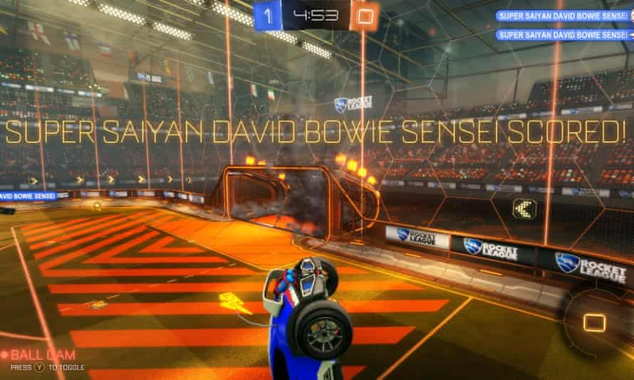 The Rocket League community has embraced the game's humour and spirit
