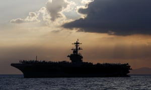 The captain of the USS Theodore Roosevelt aircraft carrier is asking for permission to isolate the bulk of his roughly 5,000 crew members on shore.