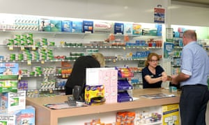 Generic picture of a pharmacy