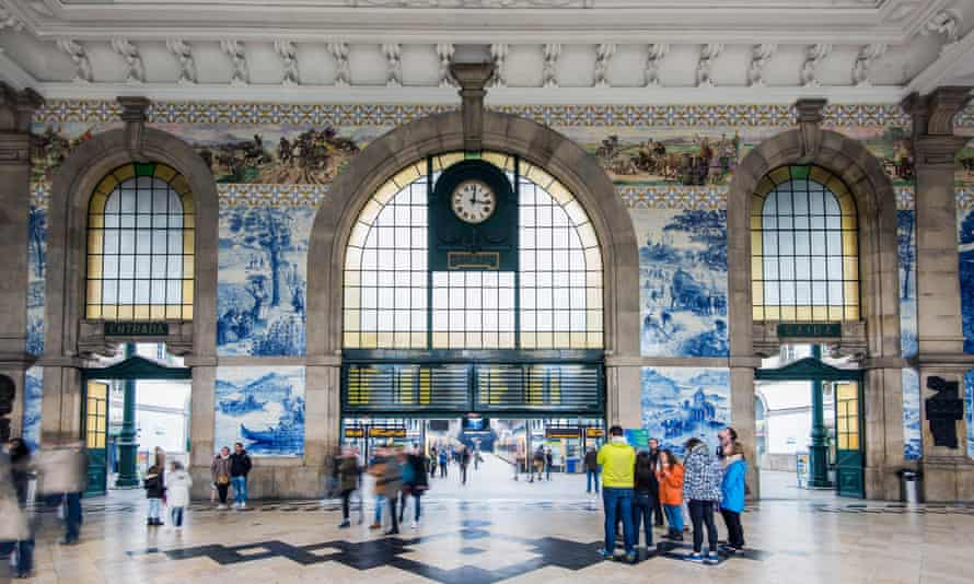 São Bento station, Porto, Portugal.