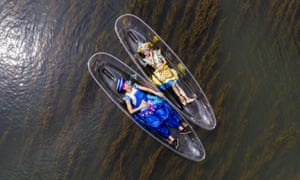Guilin, ChinaPerformers rehearse for a show on the Lijiang river in the Guangxi Zhuang region