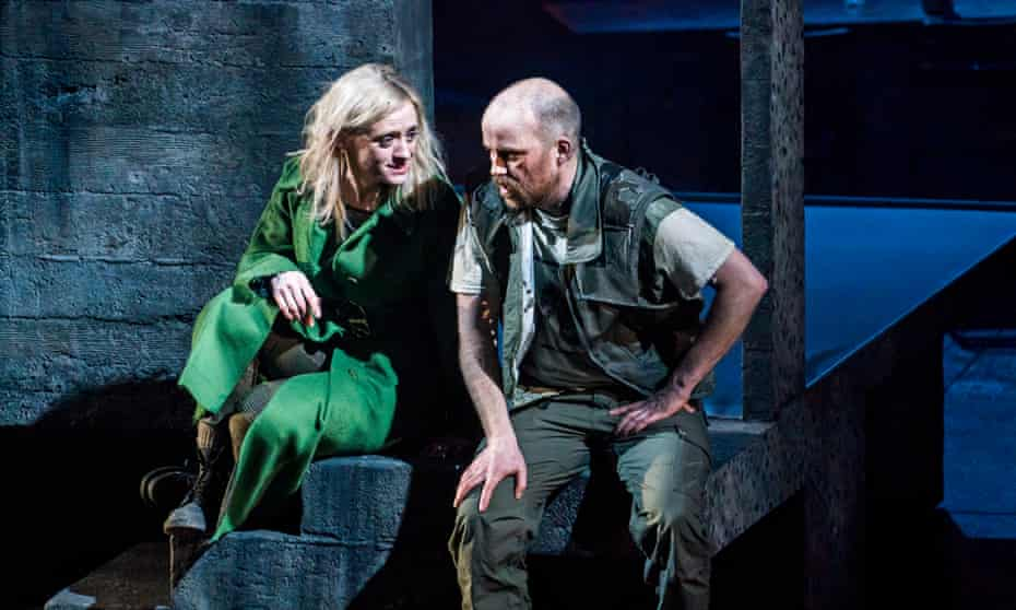 Anne-Marie Duff and Rory Kinnear in the National Theatre's production of Macbeth.