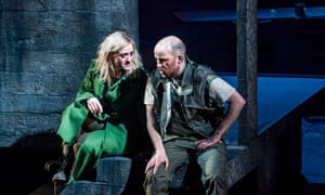 Anne-Marie Duff and and Rory Kinnear in Macbeth at the O.