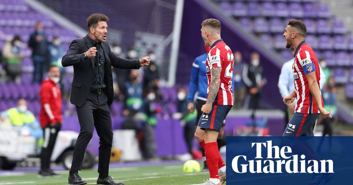 Atlético Madrid win it the hard way to live up to Diego Simeone's prediction   Sid Lowe