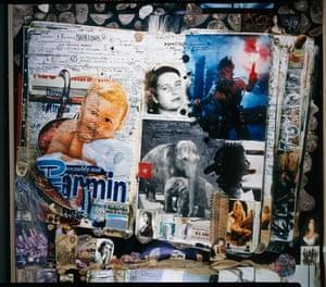 """Detail of Window for """"Oltre la fine del Mondo"""", Milan, Italy, 1997"""