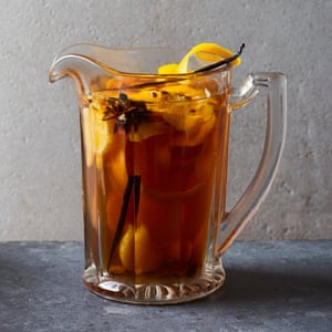 Albert Blaize and Claire Strickett's mulled cider