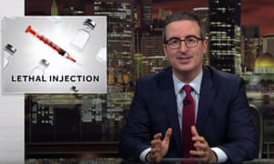 John Oliver: 'Listing reasons you don't support the death penalty is can feel like listing reasons why you're not going to fuck your mom.'