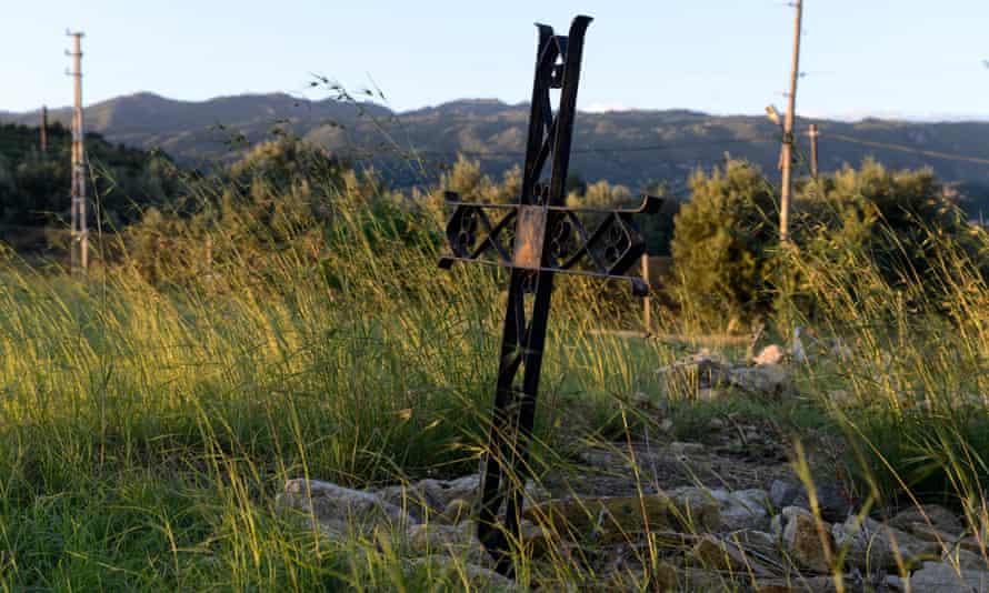 The Armenian graveyard at Vakifli