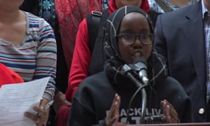 'There are still so many things that need to be fixed around gun control'  … Saida Dahir.