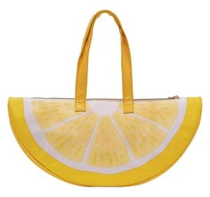 BanDo Super Chill lemon cooler bag