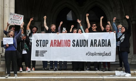 Selling arms to the Saudis was always immoral. Now it is unlawful, too