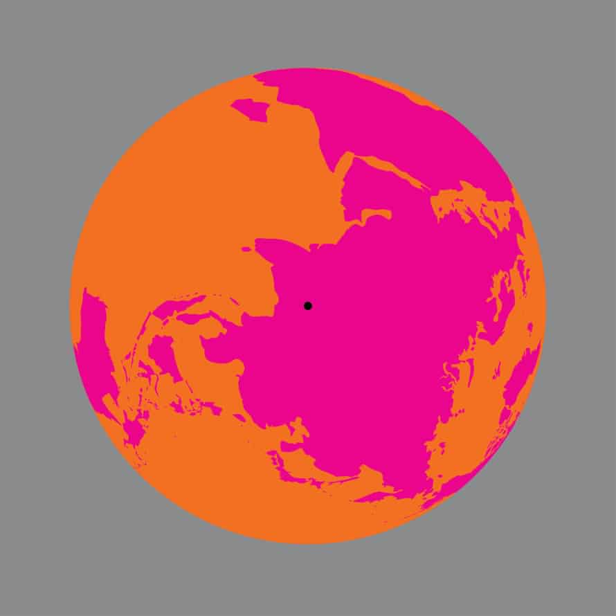 Olafur Eliasson, Earth perspectives, 2020: the Earth viewed over the Ganges River, India