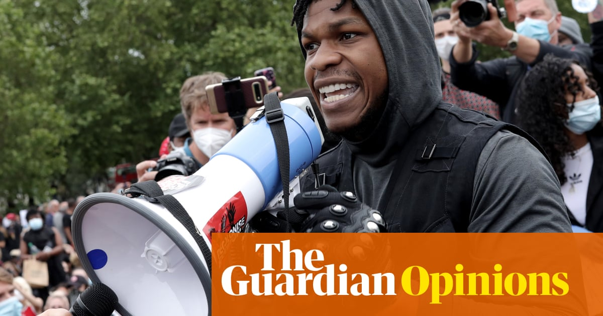 I ain't waiting: John Boyega shows movie stars what political engagement looks like