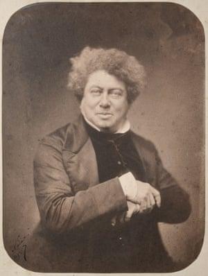 Alexandre Dumas, 1855