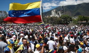 Opposition rallies gather in Caracas on Saturday to demand that foreign humanitarian aid convoys be allowed to cross the border amid the severe economic crisis.