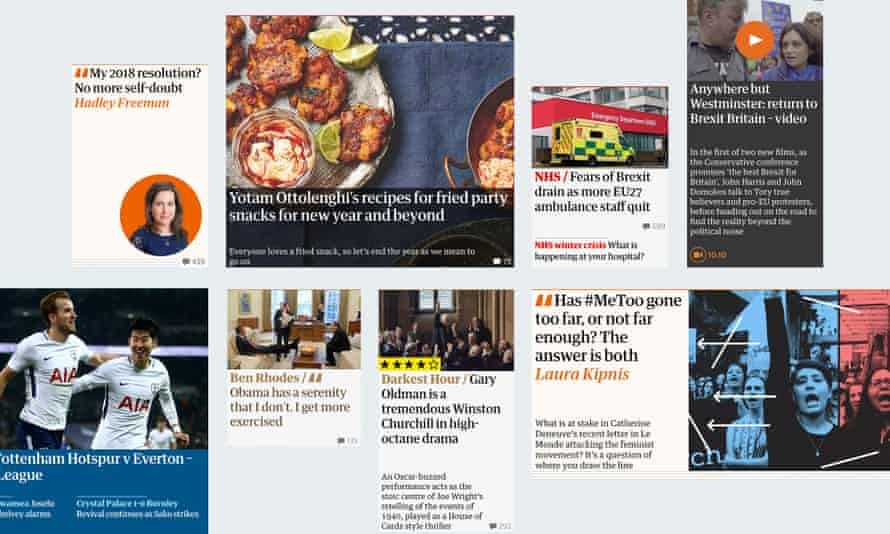 The Guardian's new website
