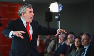 Gordon Brown joins Scottish Labour leader Jim Murphy as they outlined their welfare powers for Scotland.