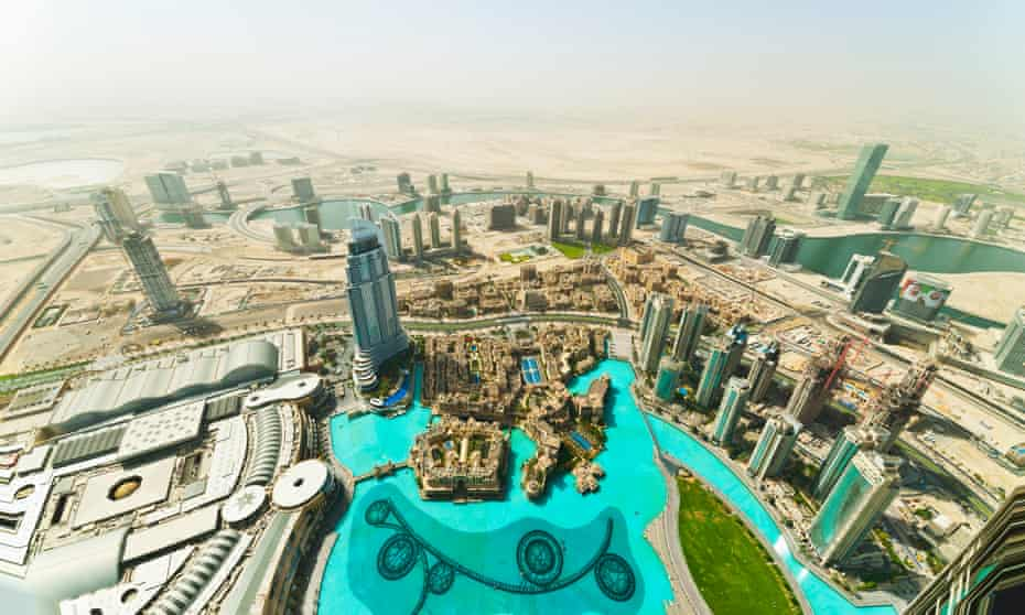 The desert city of Dubai launched its own 'happiness index' in 2014.