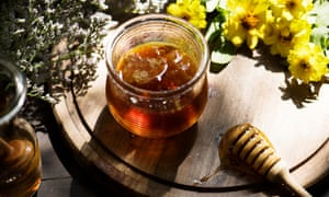 Raw honey may crystallise more quickly.