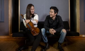 Well-attuned … Ji Young Lim and pianist Dong Heyk Lim.
