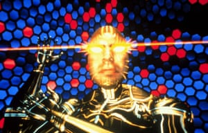 Psychedelic simulations … The Lawnmower Man, 1992.