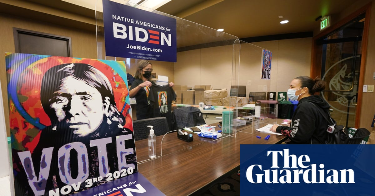 'They don't include Native voices': tribes fight to ensure their votes count