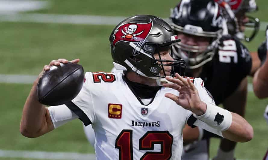 Nfl Roundup Brady Channels Super Bowl Magic As Falcons Stunned By Bucs Nfl The Guardian