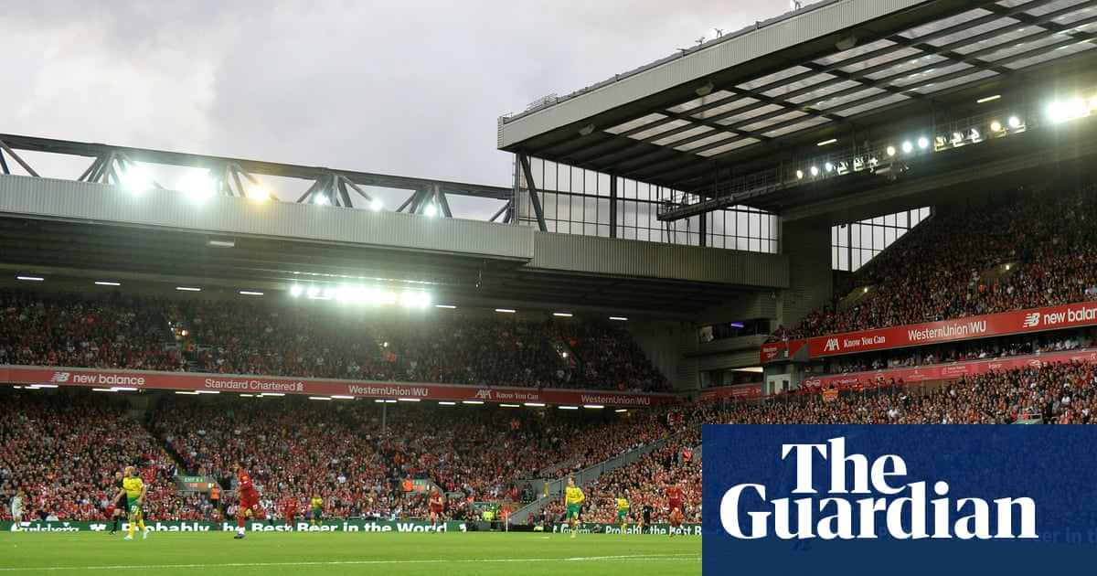 Liverpool reveal plan to increase Anfield's capacity to beyond 60,000