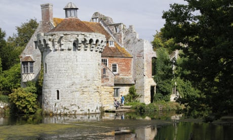 Cache of antique coins found in drawer at Scotney Castle