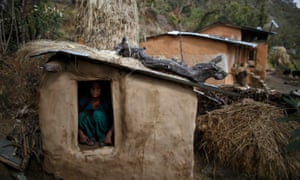 Woman in Nepal dies after being exiled to outdoor hut during