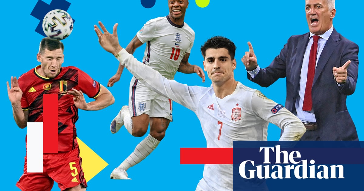 Euro 2020 power rankings: Belgium and England on the up for last eight
