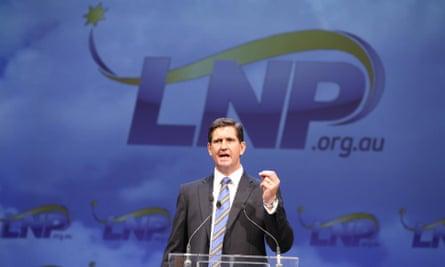 Queensland LNP leader Lawrence Springborg.