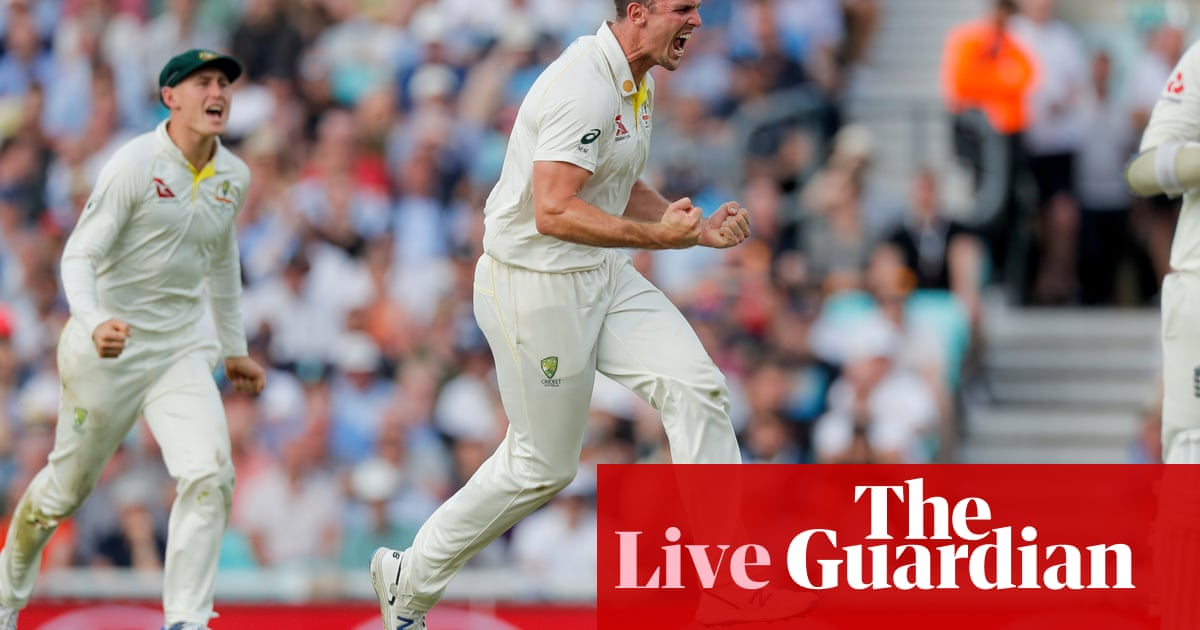 Ashes 2019 England V Australia Fifth Test Day One As It