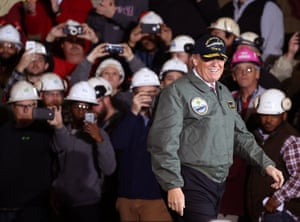 Newport, VirginiaPresident Donald Trump greets members of the U.S. Navy and shipyard workers on board the USS Gerald R. Ford
