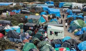 The Calais camp