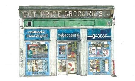Cut Price Groceries, Woodlands Road, Glasgow