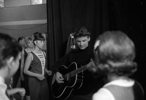 Don Everly with the Shindig dancers on The Everly Brothers Show in June 1965