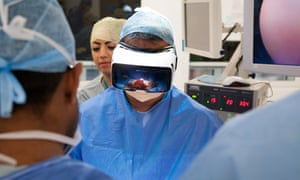 Medical Realities' The Virtual Surgeon puts trainees inside an operating theatre.