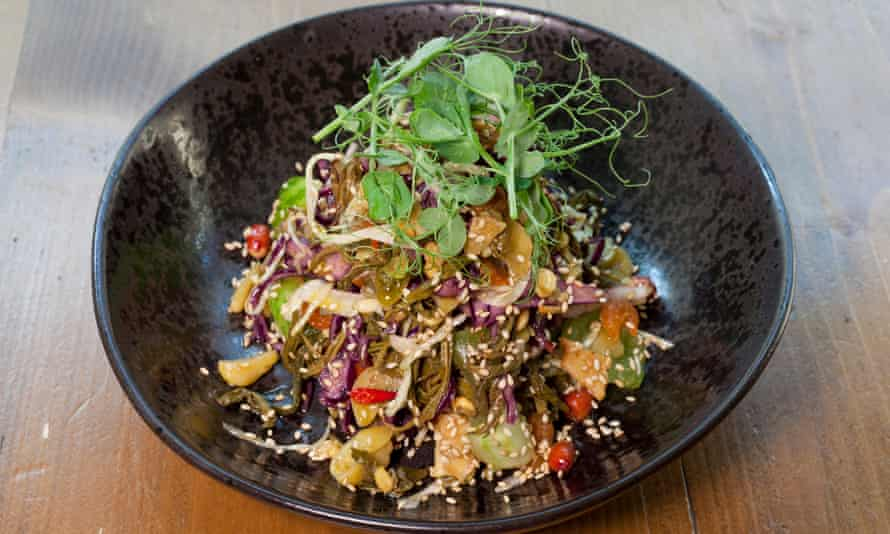 'It's a salad with a lengthy CV and killer references': lahpet thoke or pickled tea leaves.