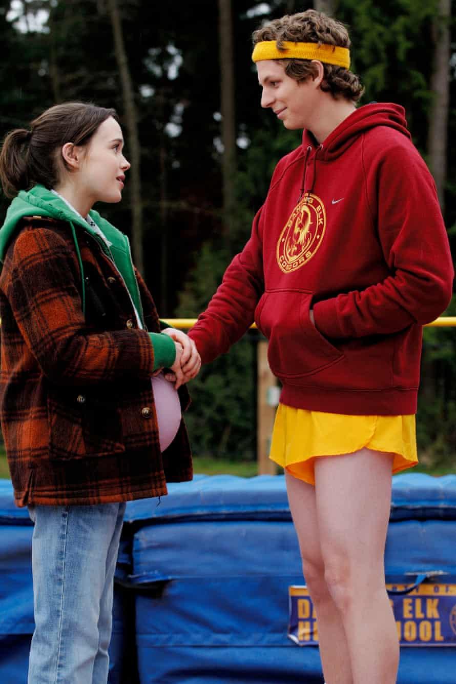 Ellen Page in Juno with Michael Cera