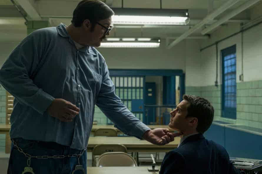 'Friends can't wait to watch … friends you wouldn't expect to be interested in how someone ripped apart a body and fucked their neck' … Mindhunter.
