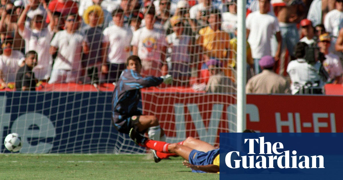 World Cup stunning moments: Andrés Escobar\'s deadly own goal   Barry ...