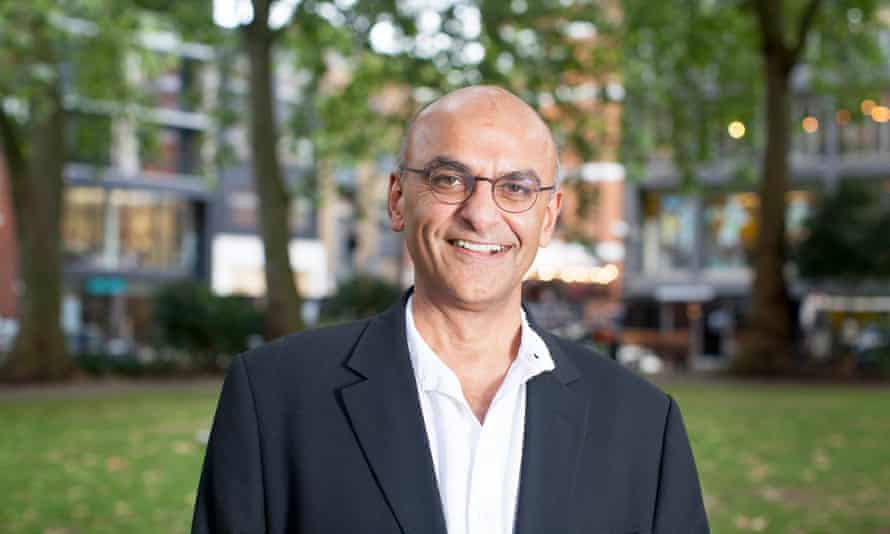 Raju Bhatt, who came to the UK as a refugee from Uganda