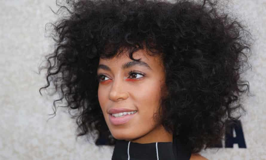 Solange Knowles, who wrote a song titled Borderline (An Ode to Self Care).