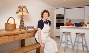 Elizabeth Luard in her kitchen, with her favourite things, London